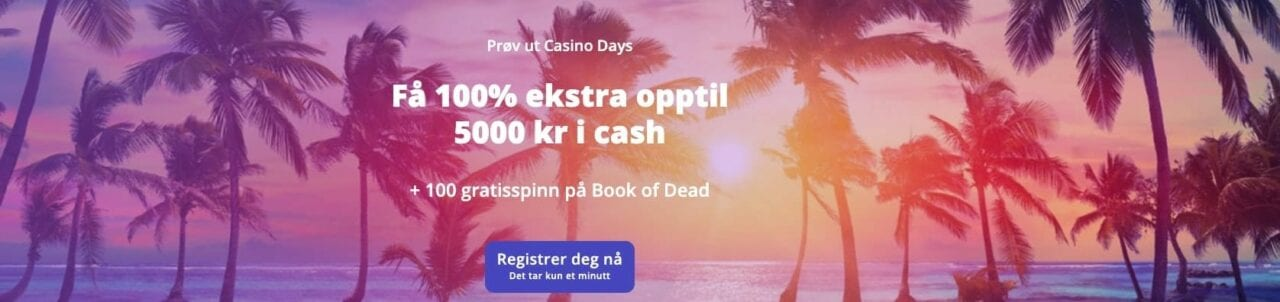 casino-days-velkomstbonus